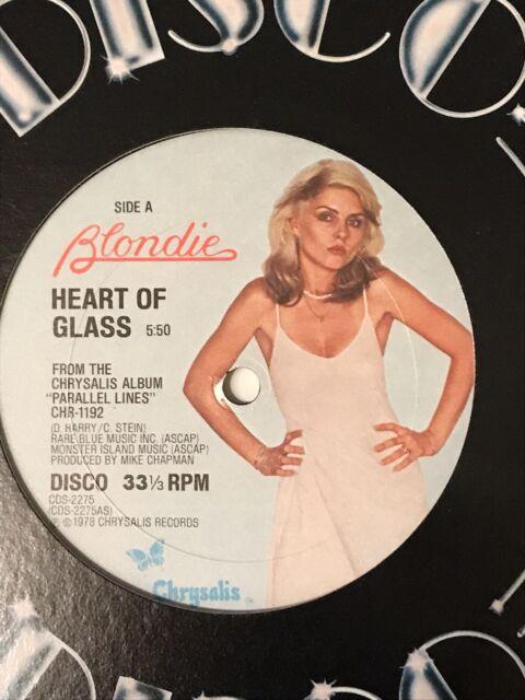 dc621fc4bf2f Blondie Heart Of Glass Vinyl Record Original Pressing Rare Disco 12 ...