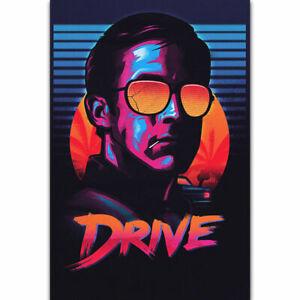 Drive Movie Ryan Gosling Classic Film Car Fabric Decor ...