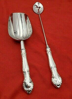 English Gadroon by Gorham Sterling Silver Martini Spoon HHWS  Custom Made
