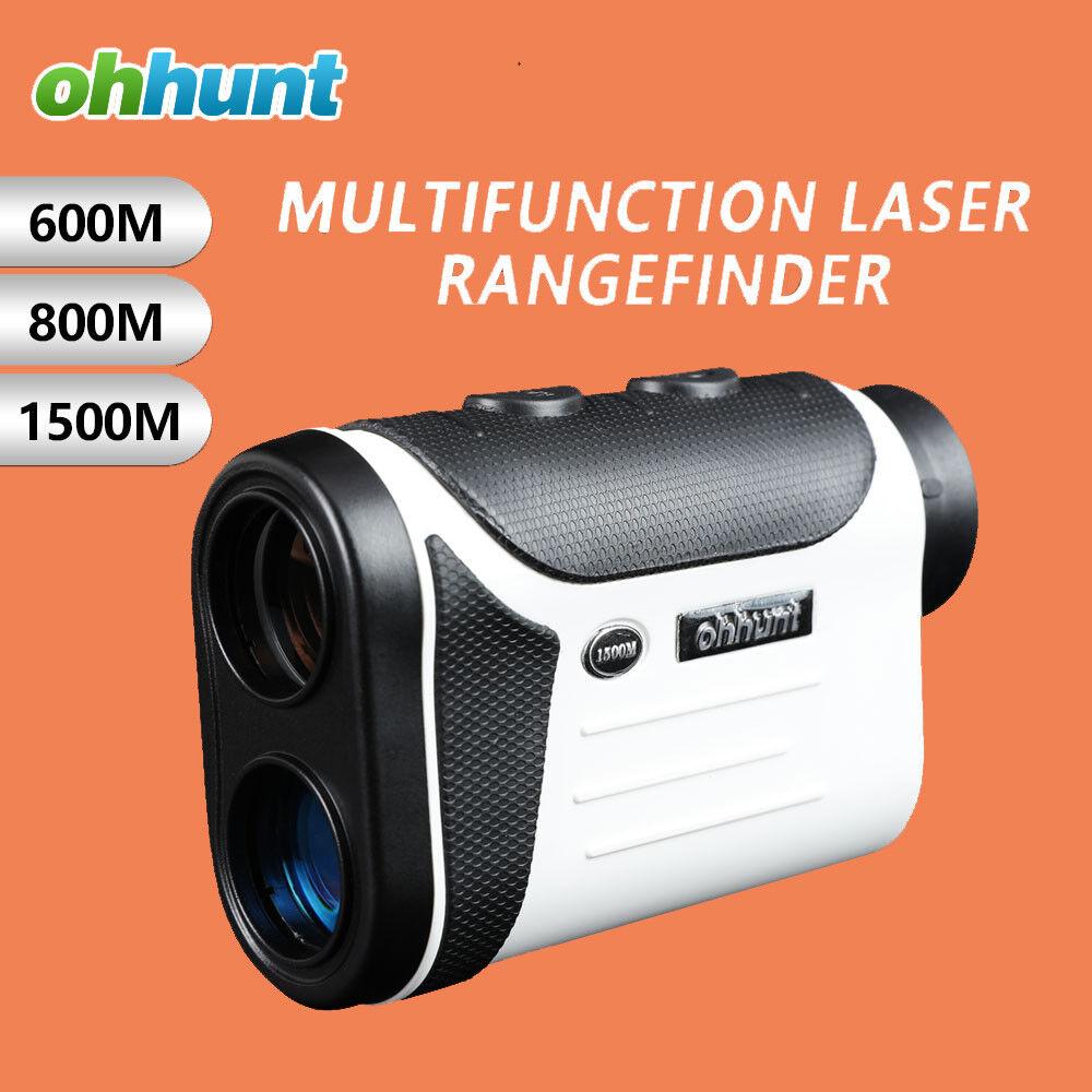 Ohhunt telémetros láser multifunción 8X 600 M 800 M 1500 M buscadores de rango de caza