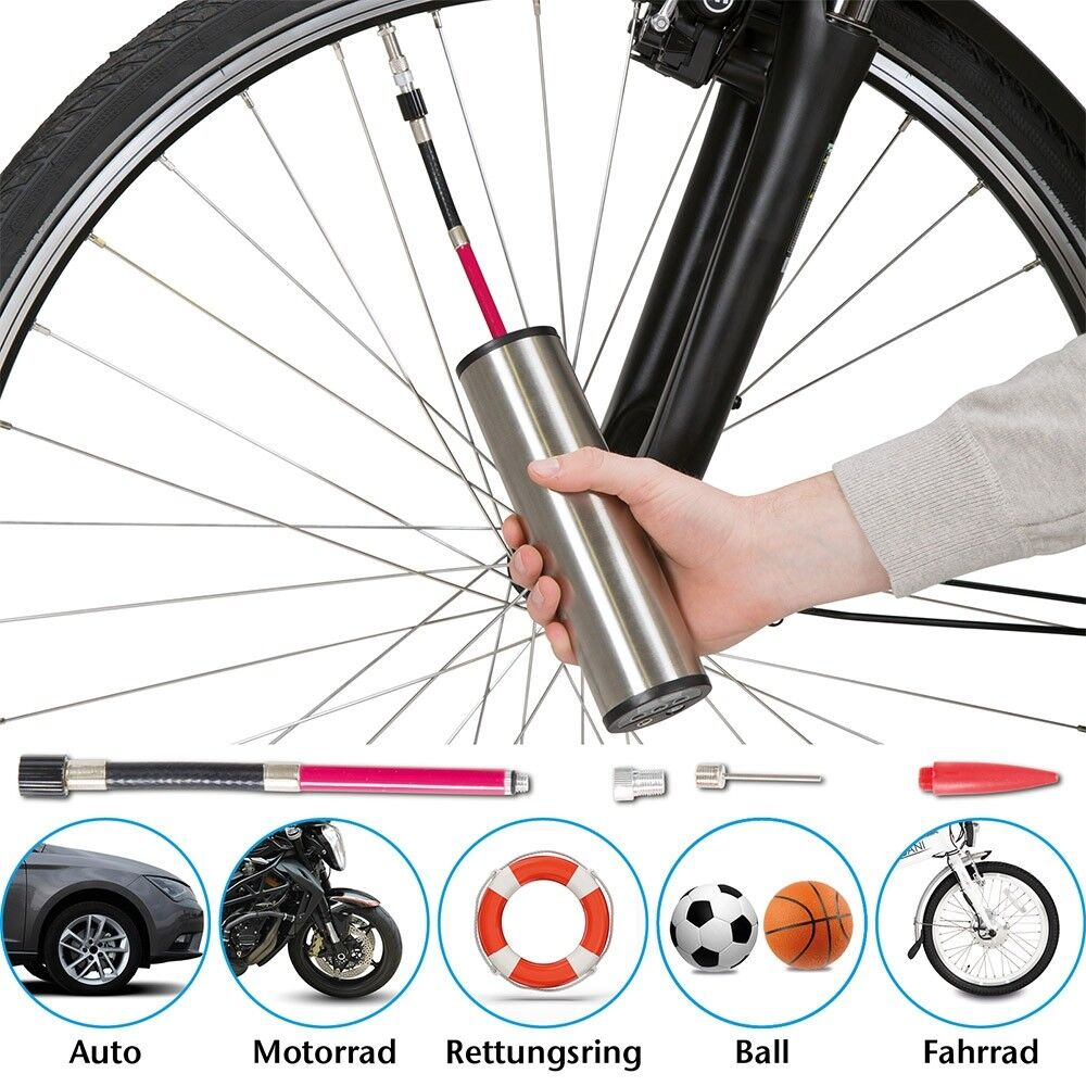 Elektrische Luftpumpe Fahrrad-Akkupumpe Fahrradpumpe Luftkompressor Rad Pumpe