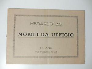 Medardo Bisi. Mobili da ufficio, Milano | eBay