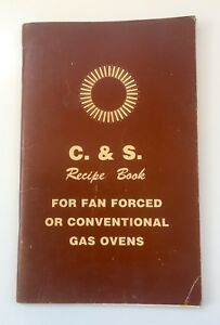 C-amp-S-Recipe-Book-For-Fan-Forced-Conventional-Gas-Ovens-Craig-amp-Seeley-No-40237