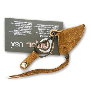 CAROL-TRADITIONAL-SUEDE-LEATHER-ARCHERY-ACCESSORIES-STRINGER-KEEPER-AA402