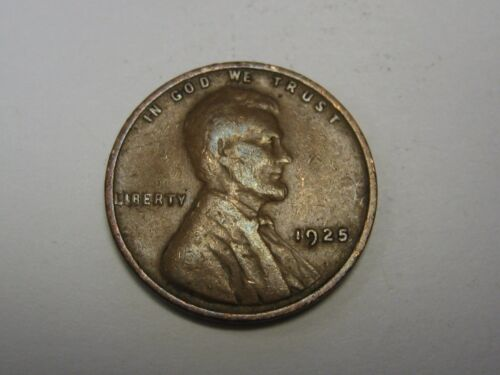 1925 Lincoln Wheat Cent in Average Circulated Condition       DUTCH AUCTION