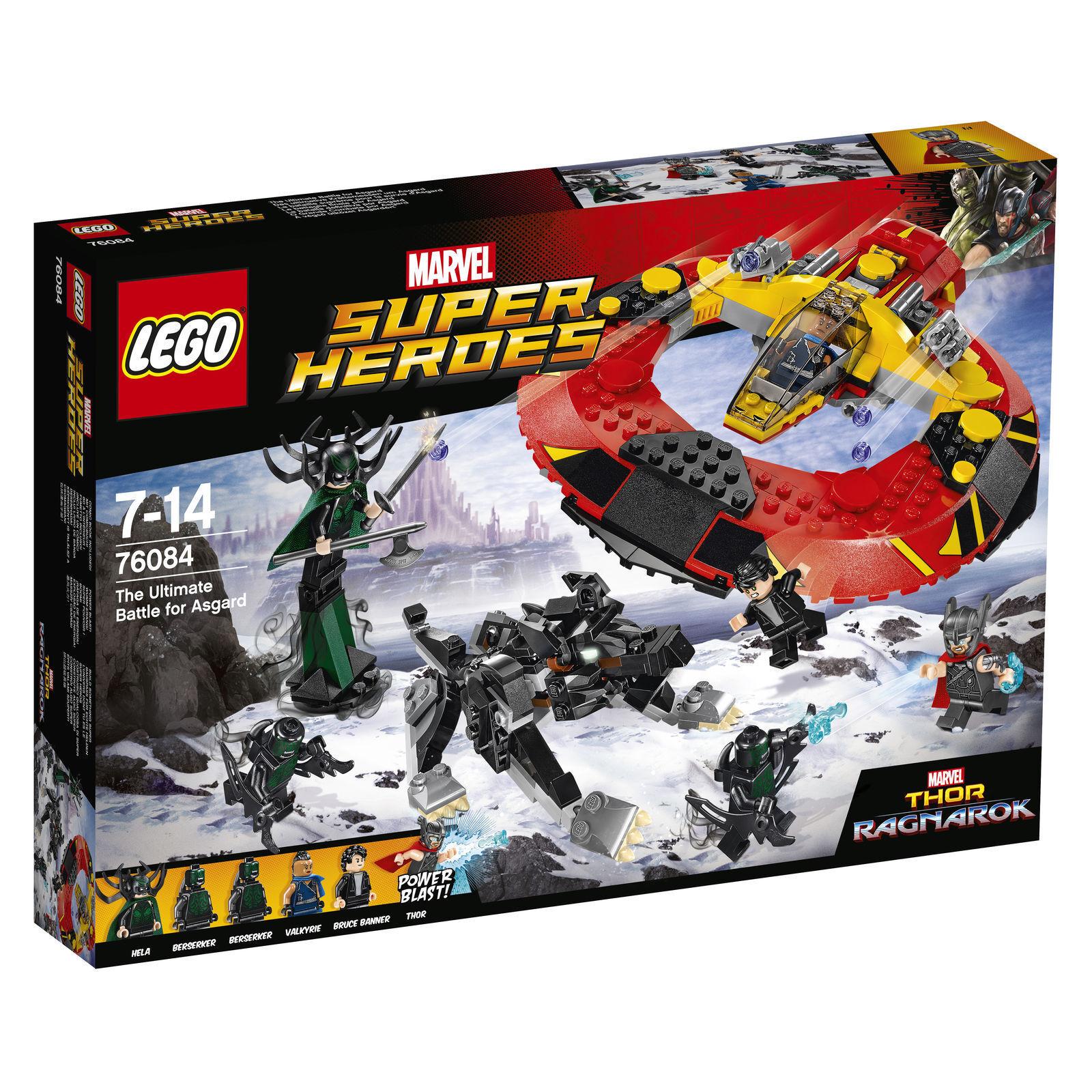 LEGO MARVEL SUPER HEROES l'arma finale misurare le forze per Asgard  76084  + OVP +