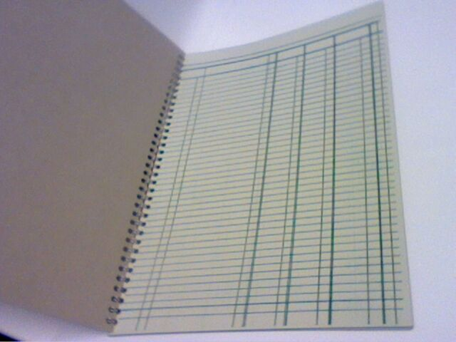 a4 accounts book keeping wirebound treble cash book 50 pages also