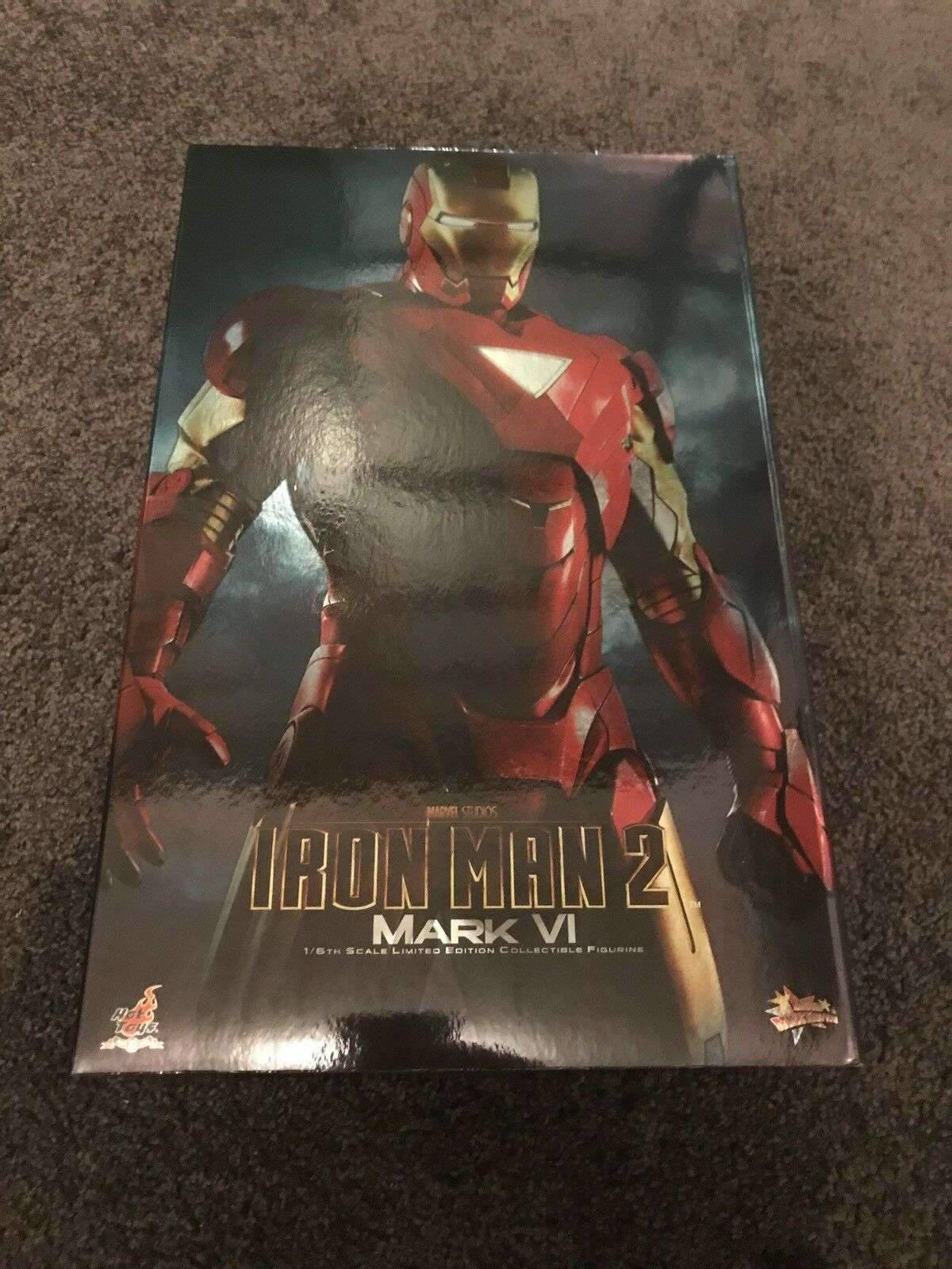 1/6 Scale Hot Toys Toys Toys MMS132 Iron Man 2 Mark VI BIB Marvel Avengers NOT Diecast 4e060f