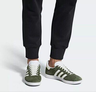 adidas Originals Mens Gazelle Green Trainers Shoes B41649 UK 4.5 to 10.5 Free D | eBay