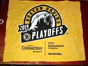 Boston Bruins NHL Stanley Cup Playoffs Rally Towels St. Louis Blues GO BRUINS!