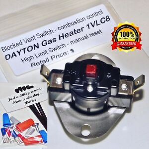 Outstanding Dayton Grainger 1Vlc8 Blocked Vent Switch Manual Reset Instruct Wiring Cloud Hisonuggs Outletorg