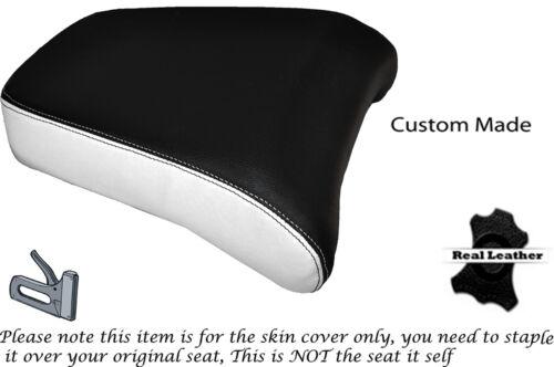 WHITE /& BLACK CUSTOM FITS YAMAHA XT 1200 Z SUPER TENERE 10-15 REAR SEAT COVER