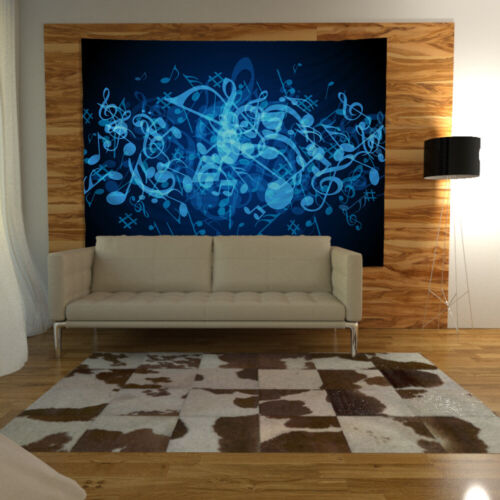 Colorful Music Tapestry Art Wall Hanging Sofa Table Bed Cover Home Decor