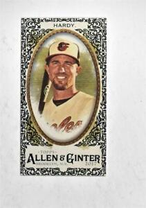 2017-Topps-Allen-and-Ginter-Mini-Black-Border-307-J-J-Hardy-NM-MT
