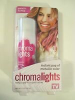As Seen On Tv Chromalights Instant Metallic Pink Color Spray Hair Color