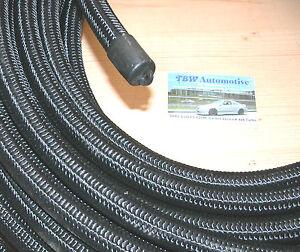 1m-AN-8-Schlauch-schwarz-NEU-Dash-8-Nylon-Stahl-Olschlauch-Benzinschlauch-AN-8