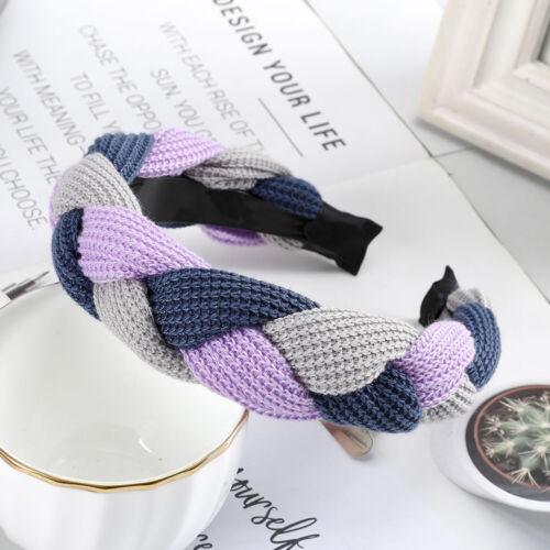 Ladies Twist Braided Headband Hairband Tie Alice Head Band Hair Hoop Accessories