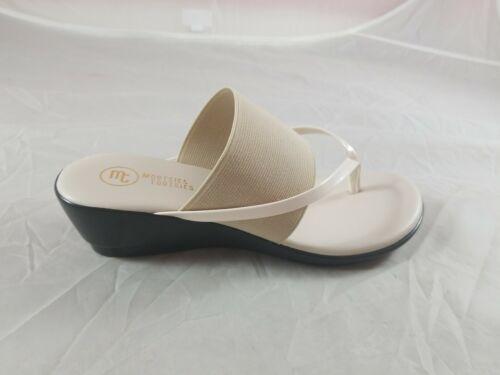 Mootsies Tootsies River Womens Sandal Size 10M Natural