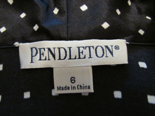 Sz cotone pieghe Nwot 6 Suit misto a seta Gonna Pendleton in primavera estate qx5Rawzn