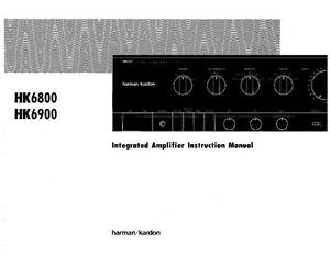 harman kardon hk 6800 receiver owners manual ebay rh ebay com harman kardon hk 3380 manual free printable harman kardon hk 3490 manual