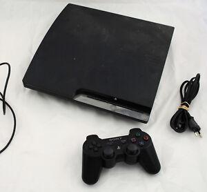 Console-PS3-Playstation-3-SLIM-320-Go-CECH-2504B-1-manette-sans-fil-FONCTIONNE