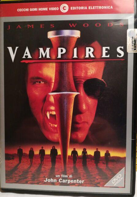 VAMPIRES - JOHN CARPENTER - DVD CECCHI GORI 2002 - FUORI CATALOGO