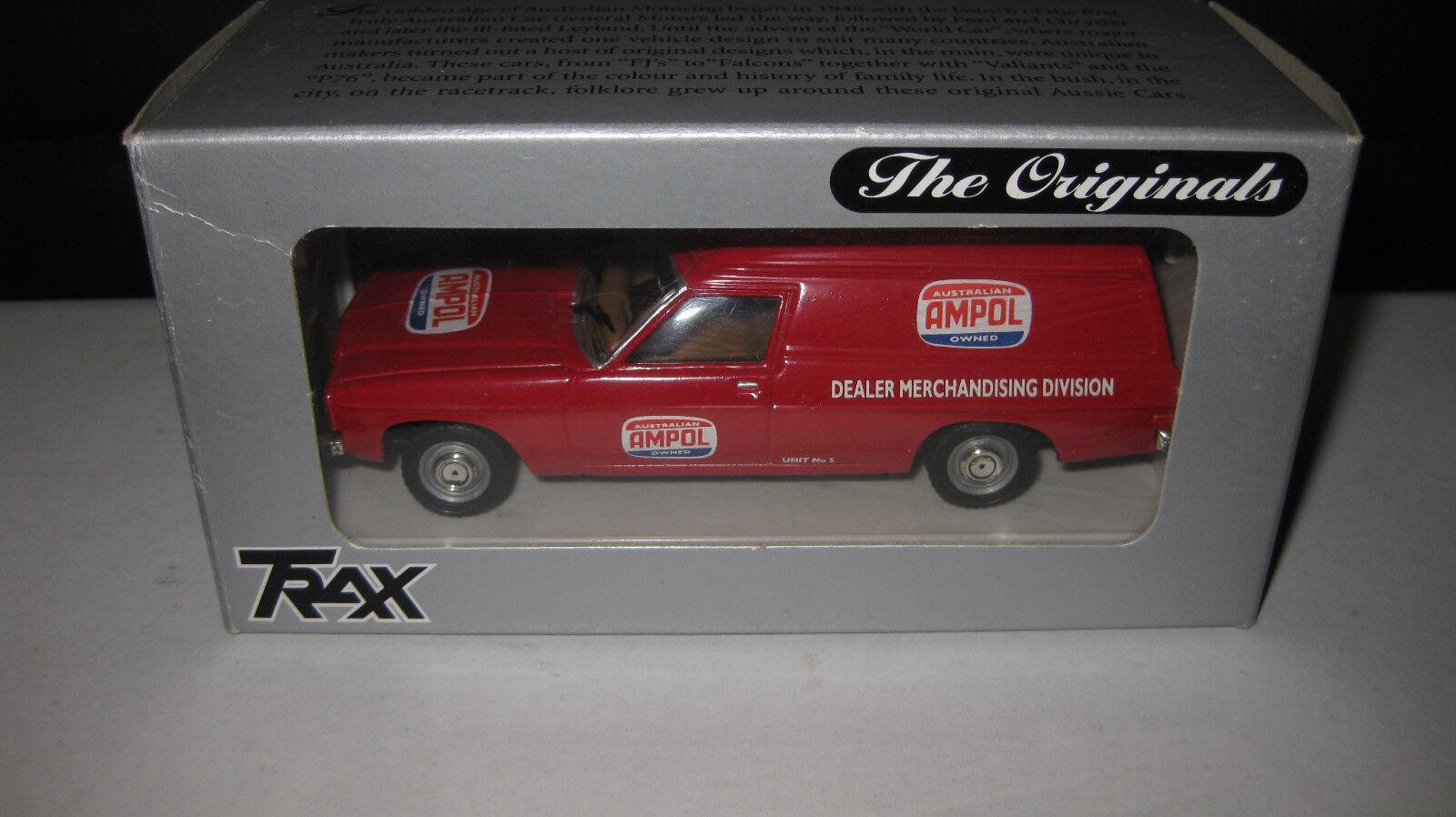 TRAX 1   43 hollden Hz, caja roja van Ambol, difícil de encontrar tr12b