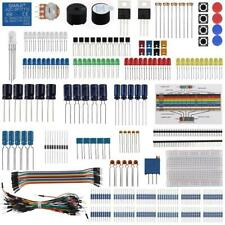 Electronic Component Base Fun Kit Bundle With Breadboard Cable Free 2 Day Ship