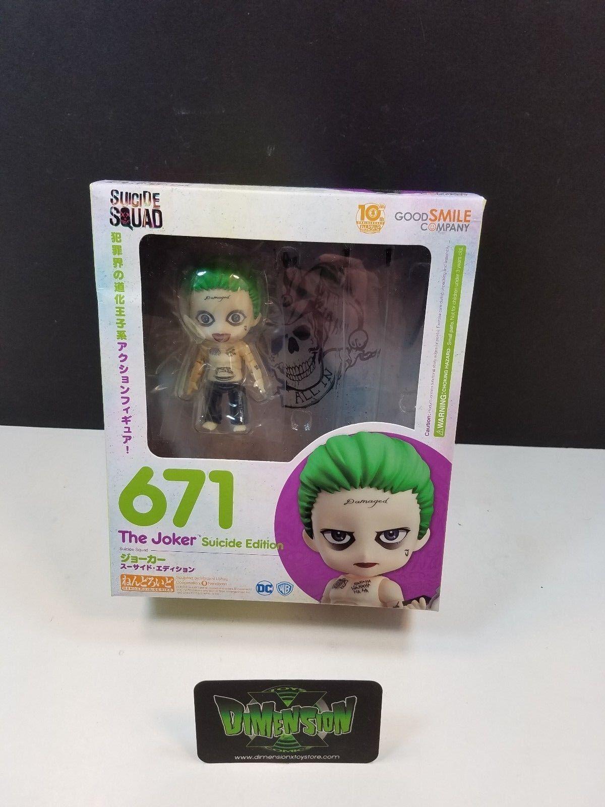 Good Smile Company Nendoroid Suicide Squad - The Joker Figure MIB