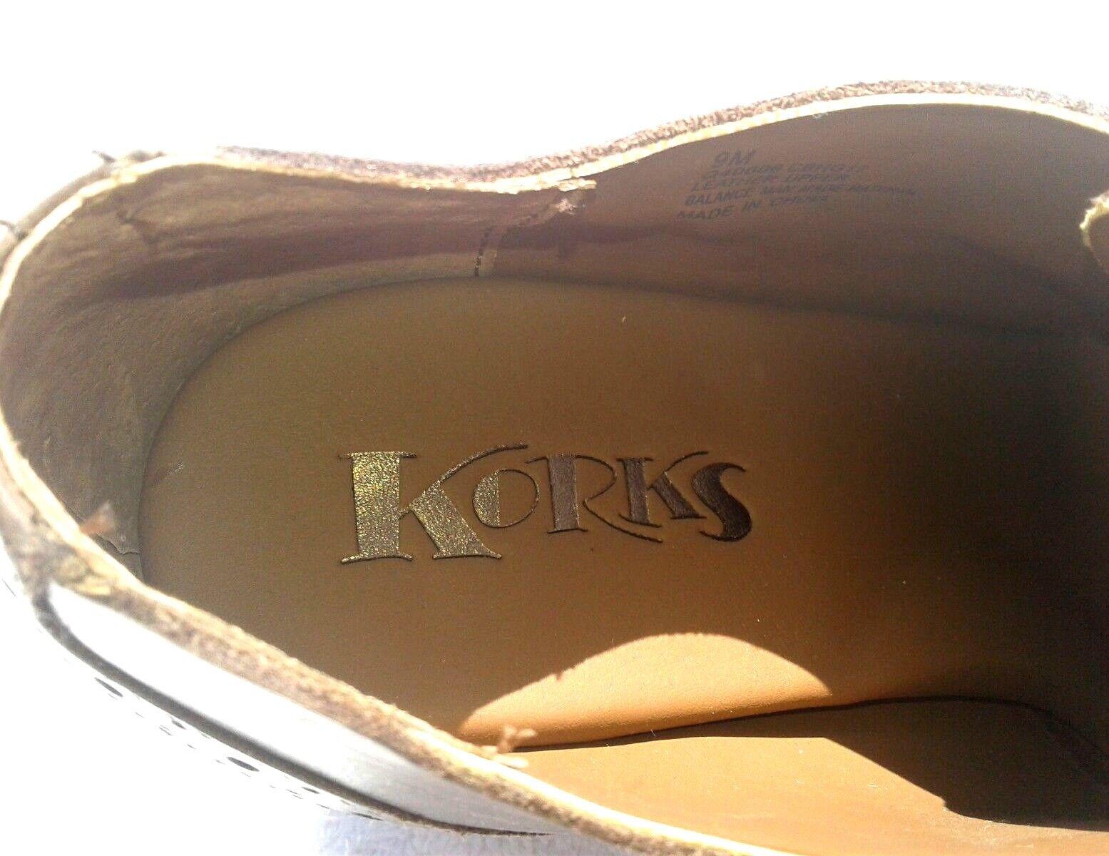 KORKS by Kork-Ease WITHROW Dark braun Größe 9 - - 9 NWB eb7ba3