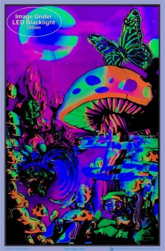 "Magic Valley Laminated Blacklight Poster 23.5/"" x 35.5/"""