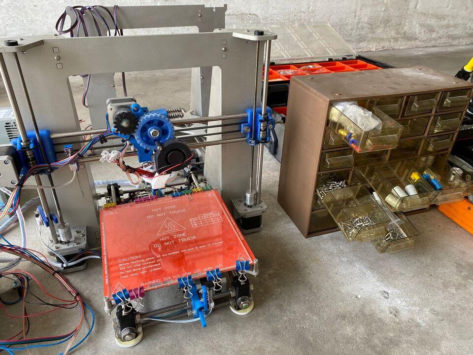 3D Printer, Prusa, I3