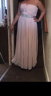 4 X Blush Pink Bridesmaid Dresses