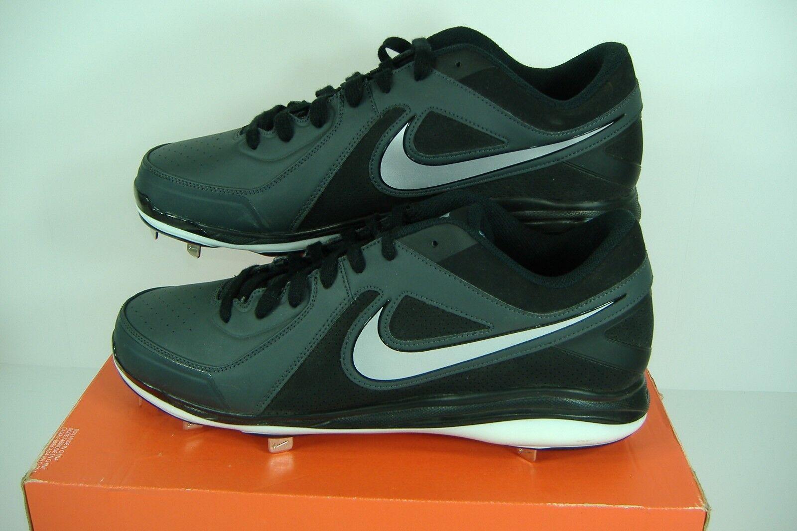 hombre 16 Nike Air Max MVP Pro Negro precio Blanco baseball metal cleats reducción de precio Negro 339054