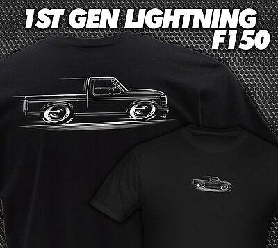 F-150 Truck & Ford Lightning T-Shirt 1990 1991 1992 1993 1994 1995 1996