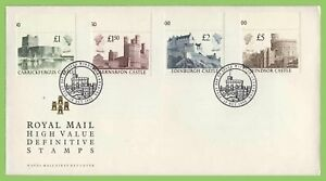 G-B-1988-High-Value-Definitives-Royal-Mail-u-a-First-Day-Cover-Windsor