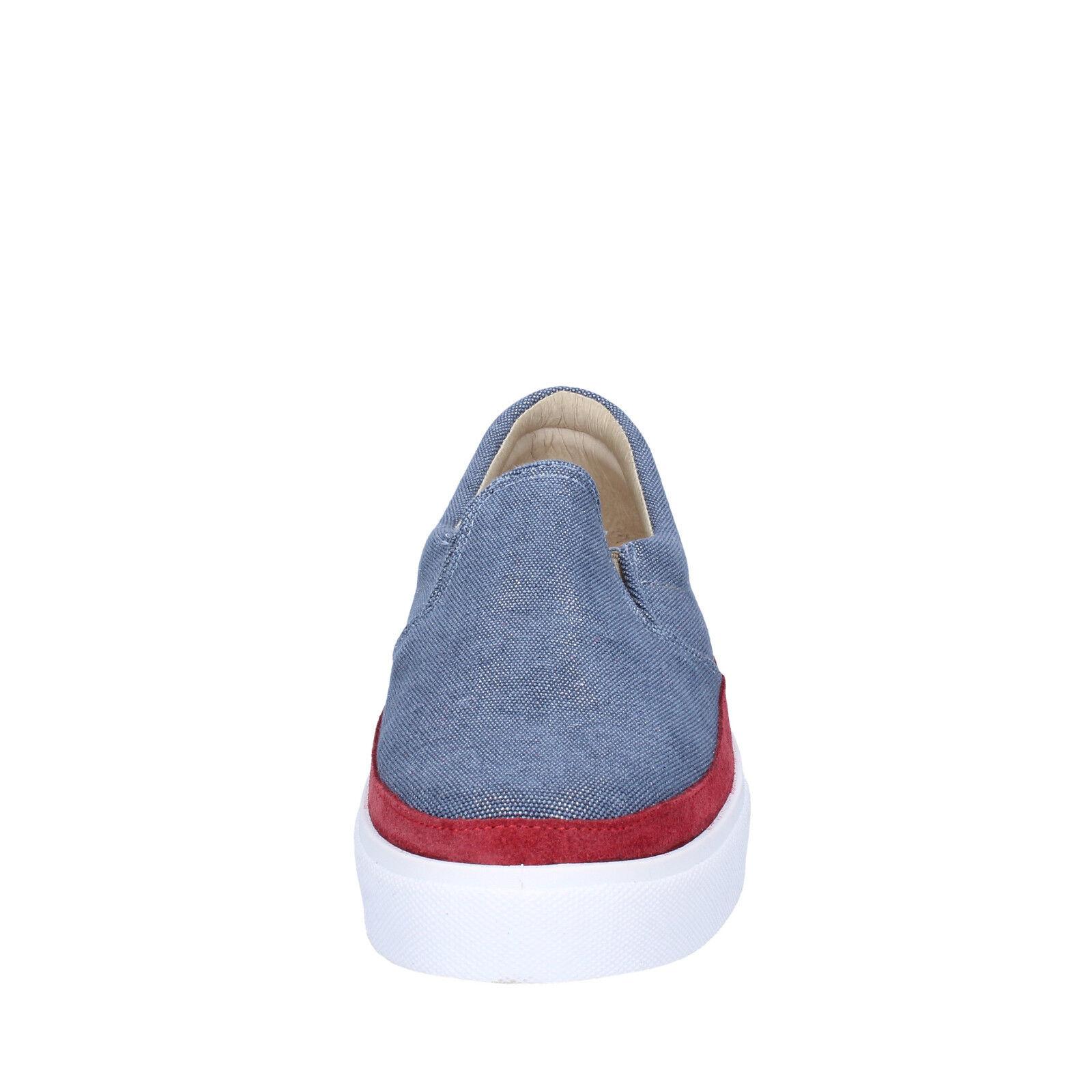 Damen schuhe 2 2 2 STAR  41 EU halbschuhe blau burgund wildleder AP715-C  | Professionelles Design  ef57de