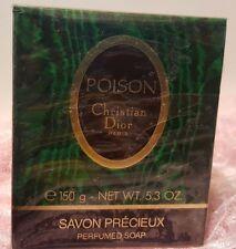 Poison Perfumed Soap 5.3Oz.  150g Oz. By Christian Dior savon precieux