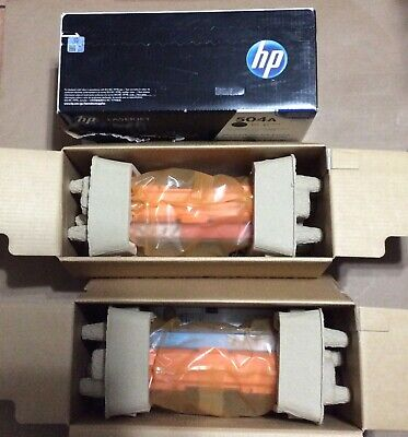 NEW GENUINE HP Laserjet Cyan Toner Print Cartridge CE251A 504A OPEN BOX