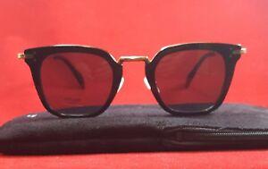 5a69e33cc62 Brand New Celine Sunglasses CL 41402 S ANW G8 Black Gold 47 25 140 ...