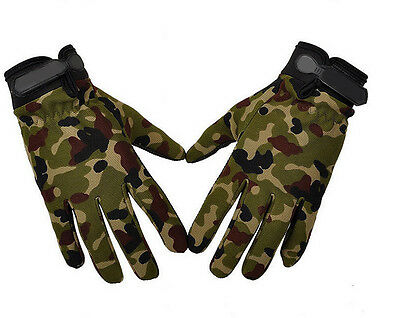 FAD Men Military Tactical Airsoft Shooting Hunting Full Finger Gloves 3 Size HOT