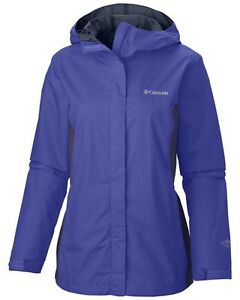 New-Womens-Columbia-034-Arcadia-II-034-Omni-Tech-Waterproof-Rain-Jacket