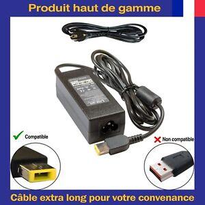 Chargeur-d-039-Alimentation-20V-2-25A-Connecteur-USB-Pour-Ordinateur-Portable-Lenovo