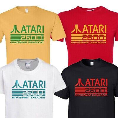 Atari Slim Fit T-Shirt Classic Logo Red Tee