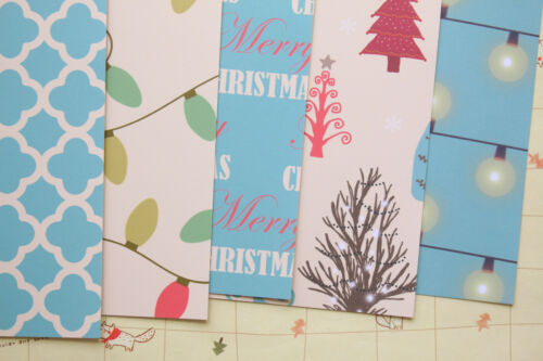 Vintage Christmas scrapbooking paper cardstock 250gsm cartoon xmas craft cards