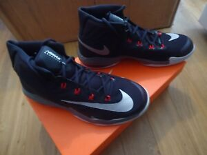 Details about Nike Air Max Audacity 2016 [843884 003] Basketball Anthony Davis BlackRed NIB