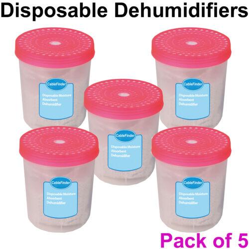 5x 0.7 L jetables Absorbeur d/'Humidité Déshumidificateur pièce intérieure humide Preventer