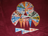 Pick Your Team: Vintage 1980's NFL 4X9 Mini Pennants Flags