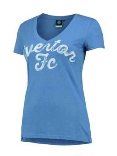 WOMENS Size 18 EVERTON FC Graphic T Shirt Top Football Top Clothing Gift