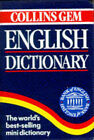 Collins Gem English Dictionary by HarperCollins Publishers (Paperback, 1994)